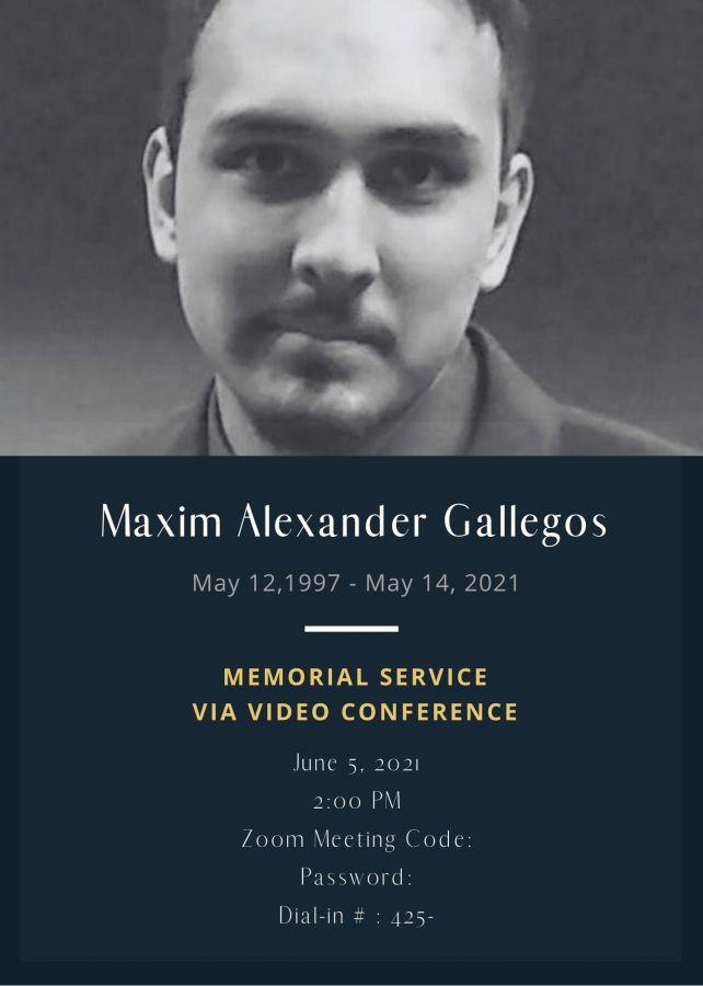 Maxim Alexander  Gallegos